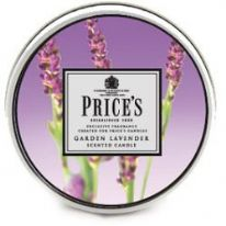 Price's Candles Aladino Scented Tin - Garden Lavender